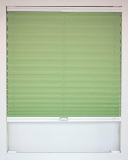 Dachfensterplissee nach Maß »Medoc«, sunlines, verdunkelnd, mit Bohren, verspannt