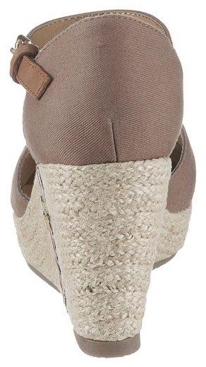 TOM TAILOR Sandalette mit verstellbarer Schnalle