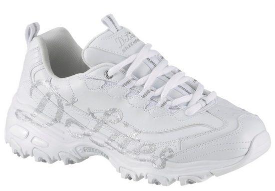 Skechers »D´Lites - Glitzy City« Sneaker mit seitlichem Print