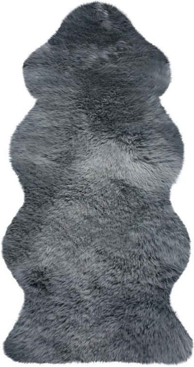 Fellteppich »Lammfell KE 152«, Heitmann Felle, fellförmig, Höhe 70 mm, echtes Austral. Lammfell, Wohnzimmer