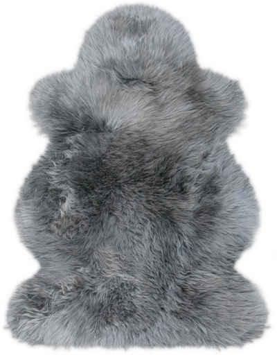Fellteppich »Lammfell farbig«, Heitmann Felle, fellförmig, Höhe 70 mm, echtes Austral. Lammfell, Wohnzimmer