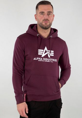 Alpha Industries Sportinis megztinis su gobtuvu »Basic ...
