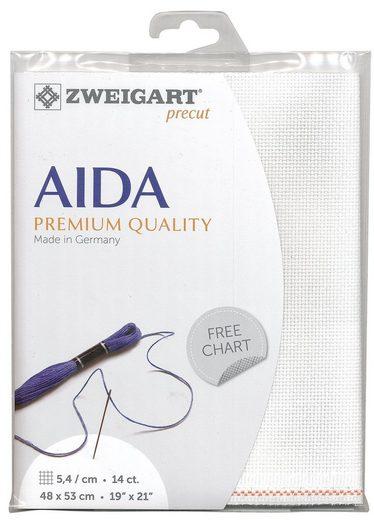 Zweigart Stern-Aida, Precut 48x53cm