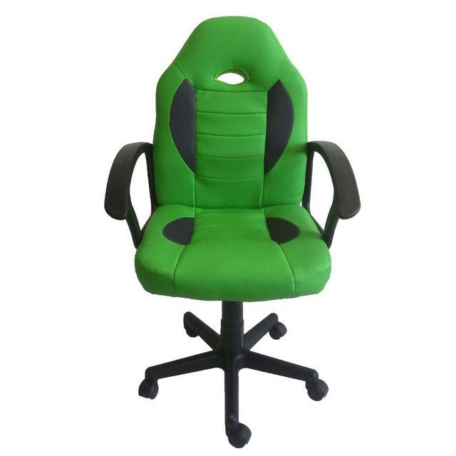Bürostühle - HTI Line Drehstuhl Daytona Junior » grün  - Onlineshop OTTO