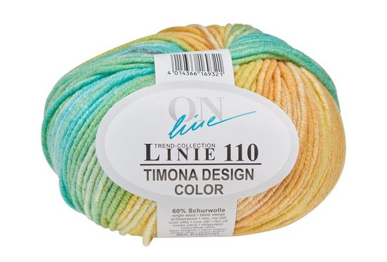 "Online Wolle ""Trend-Collection Linie 110 Timona Design Color"" 50 g"