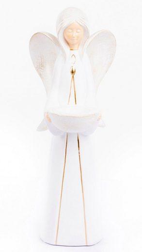 VALENTINO Wohnideen Teelichthalter »Engel Nora« (1 Stück)