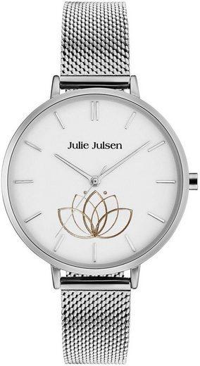 Julie Julsen Quarzuhr »LOTUS FLOWER SILVER, JJW1100SME«