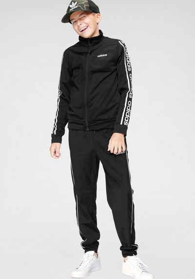 Adidas Blau Weiß Trainingsanzug Damen Online
