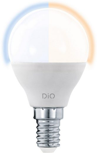 EGLO »LM_LED_E14« LED-Leuchtmittel, E14, 1 Stück, Warmweiß, Tageslichtweiß, Neutralweiß, CCT, Eglo Access, Fernbedienung bitte separat bestellen