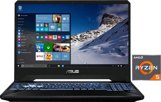 Asus FX505DD-BQ121T Gaming-Notebook (39,62 cm/15,6 Zoll, AMD Ryzen 5, GTX 1050, 512 GB SSD)