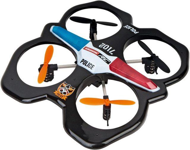 RC Quadrocopter Police von Carrera® auf rc-flugzeug-kaufen.de ansehen