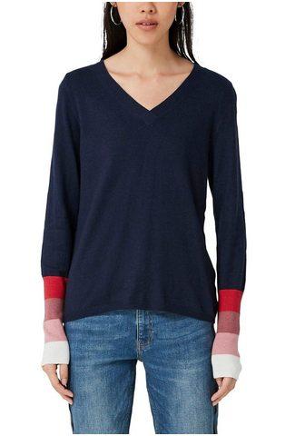 Q/S DESIGNED BY Пуловер с V-образным вырезом