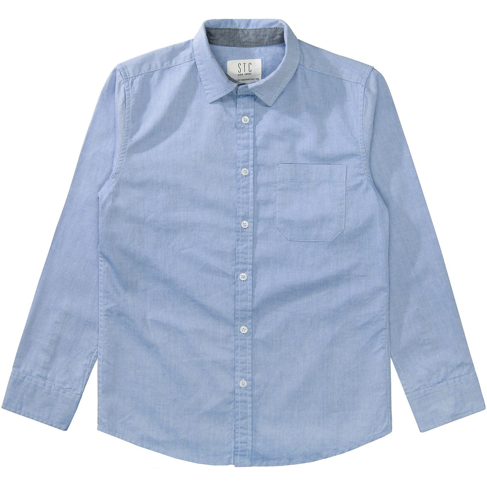 Herren,  Jungen,  Kinder STACCATO Langarmhemd für Jungen blau   04333853663068