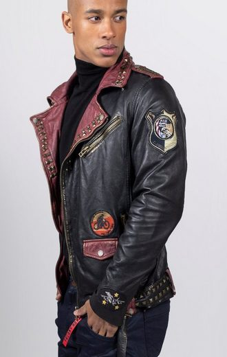 Freaky Nation Байкерская куртка »Metal King«
