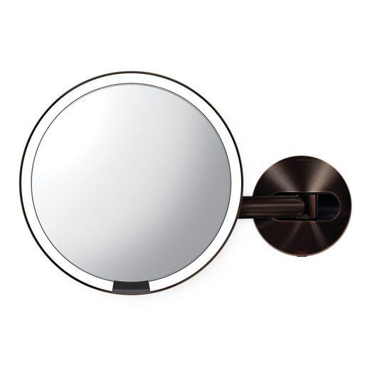 simplehuman Spiegel »20cm Sensorspiegel mit Wandaufbau verdrahtet«