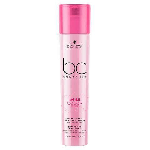 Schwarzkopf Professional Haarshampoo »BC Bonacure Color Freeze Micellar Sulfate Free Shampoo«, 1-tlg., pH-Wert 4,5