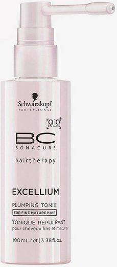 Schwarzkopf Professional Haartonikum »BC Bonacure Excellium Plumping Tonic«, 1-tlg., Für feines, reifes Haar