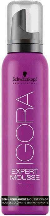 Schwarzkopf Professional Coloration »Igora Expert Mousse 5-99 Hellbraun Violett Extra«, semi-permanent