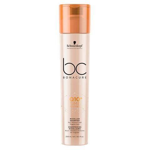 Schwarzkopf Professional Haarshampoo »BC Bonacure Q10+ Time Restore Micellar Shampoo«, 1-tlg., Speziell für reifes und trockenes Haar ab 40