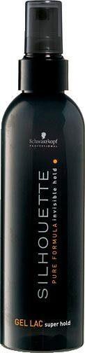 Schwarzkopf Professional Haarspray »Silhouette Super Hold Gel Lac«, Halt und Volumen