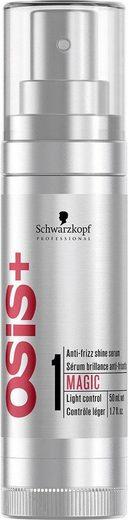 Schwarzkopf Professional Glanzspray »OSiS+ Magic«, Serum mit Anti-Frizz Effekt