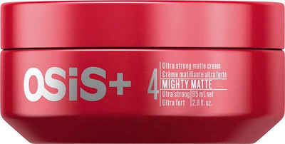 Schwarzkopf Professional Haarwachs »OSiS+ Mighty Matte«, ultrastarkes mattierendes Fluid
