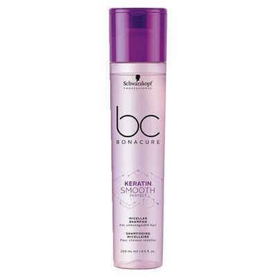 Schwarzkopf Professional Haarshampoo »BC Bonacure Keratin Smooth Perfect Micellar Shampoo«, 1-tlg., Für widerspenstiges Haar
