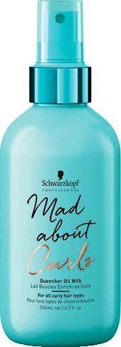 Schwarzkopf Professional Haarbalsam »MAC Quencher Oil Milk«, 1-tlg., Aquarine-Komplex