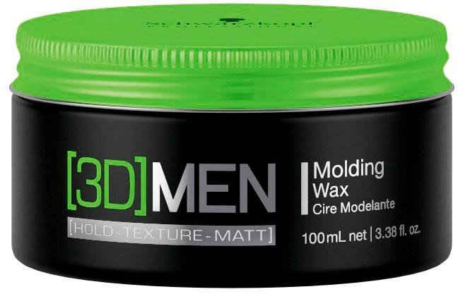 Schwarzkopf Professional Haarwachs »[3D] Men Molding Wax«, remodellierbar