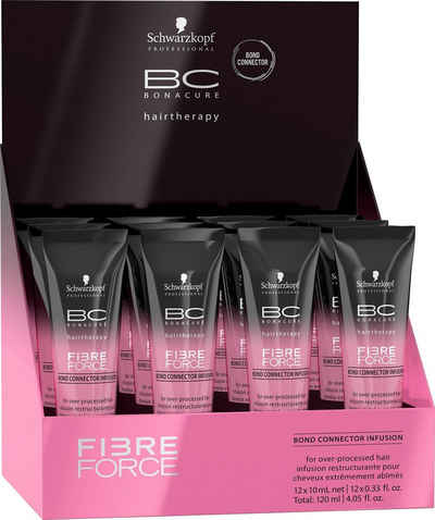 Schwarzkopf Professional Haarserum »BC Bonacure Fibre Force Bond Connector Infusion«, Für übermäßig behandeltes Haar