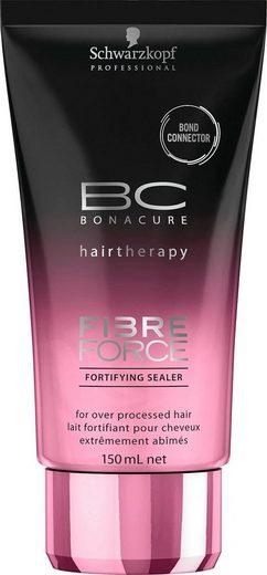 Schwarzkopf Professional Leave-in Pflege »BC Bonacure Fibre Force Fortifying Sealer«, 1-tlg., Für übermäßig behandeltes Haar