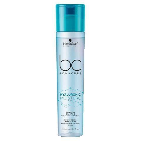 Schwarzkopf Professional Haarshampoo »Bonacure Hyaluronic Moisture Kick Shampoo«, 1-tlg., feuchtigkeitsspendende Reinigung