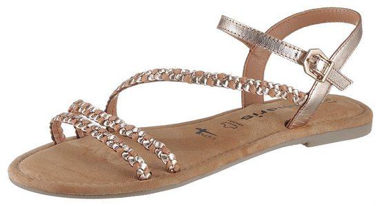 Tamaris »Tofa« Sandale mit Flechtriemchen