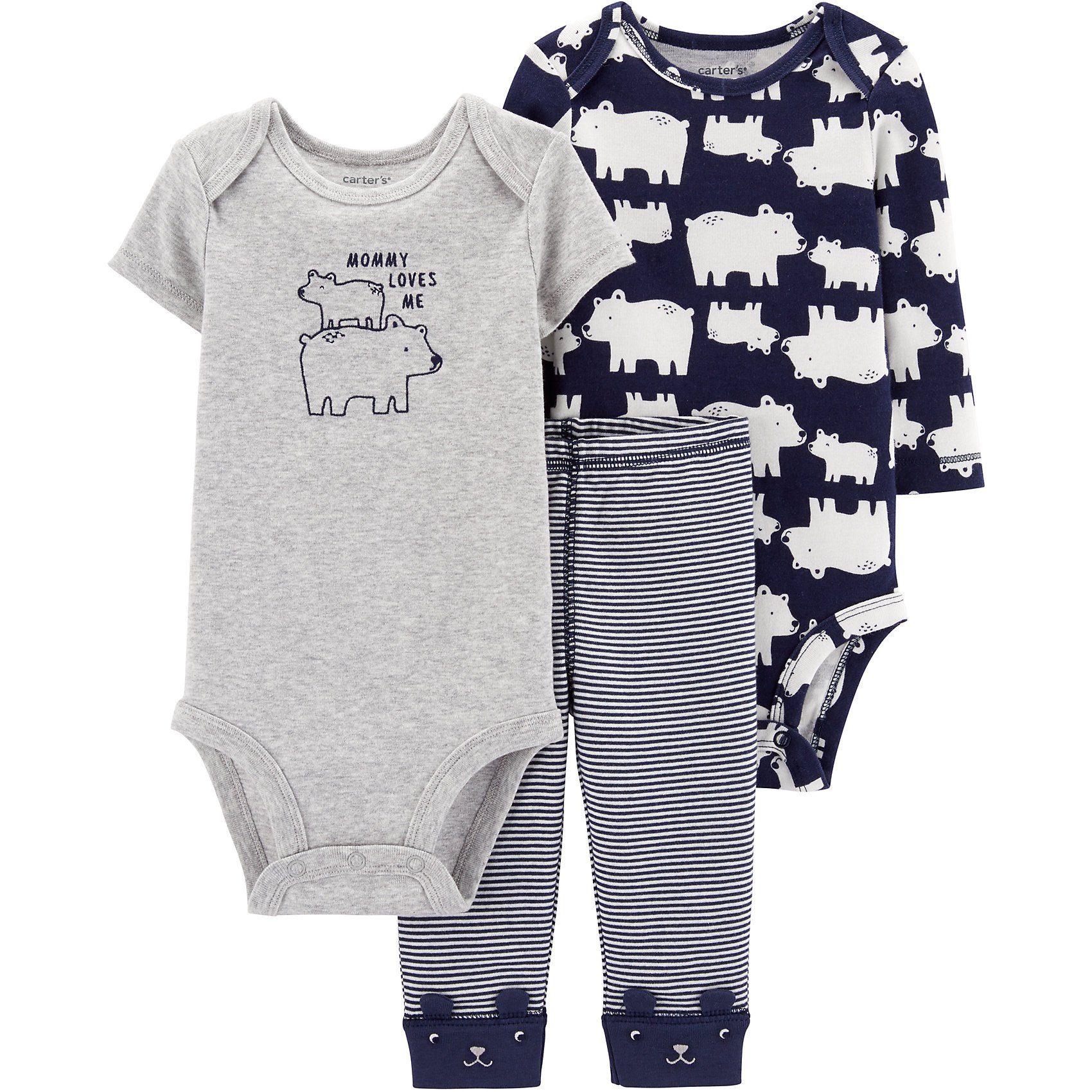 Baby Bekleidungsset mit Bärchen