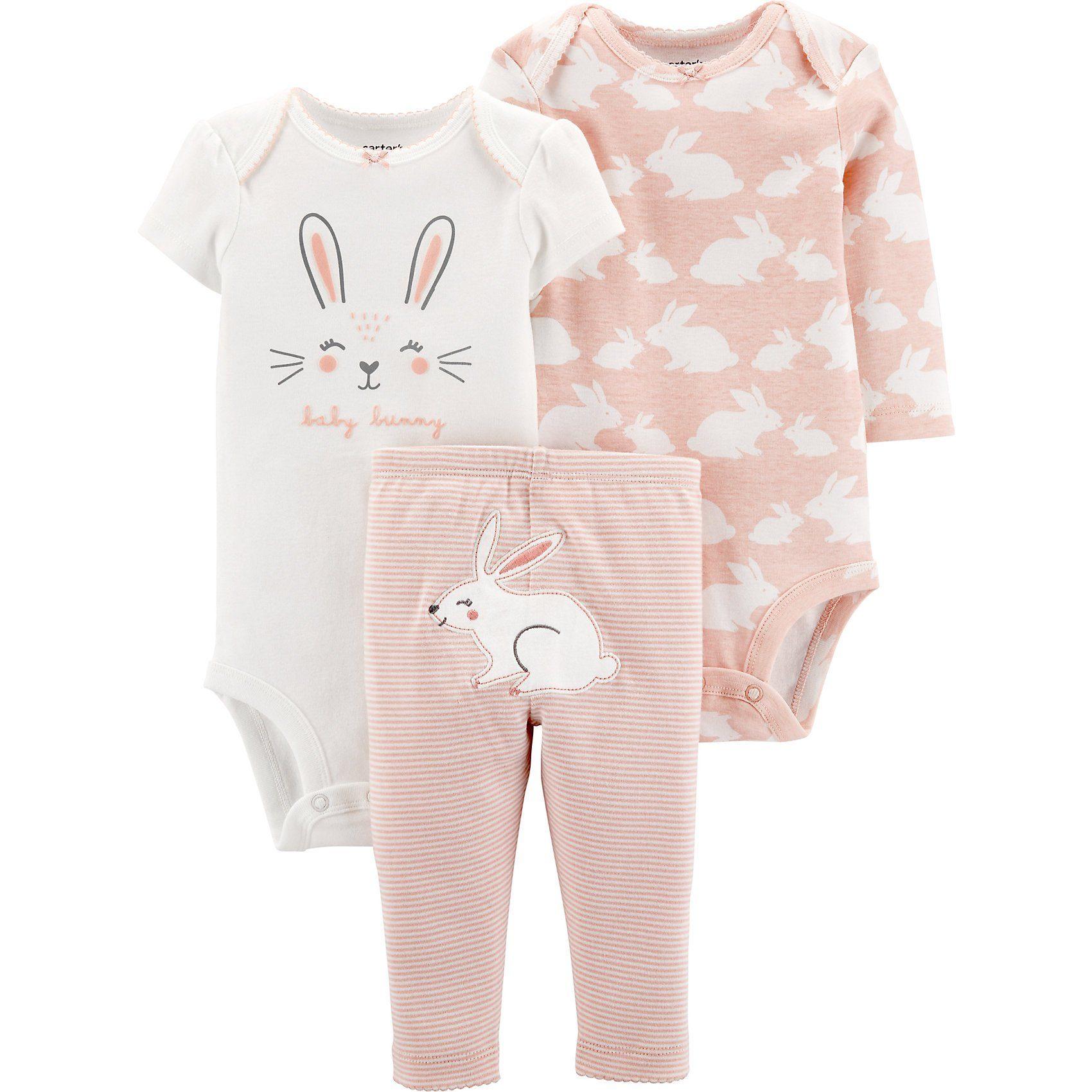Baby Bekleidungsset mit Häschen