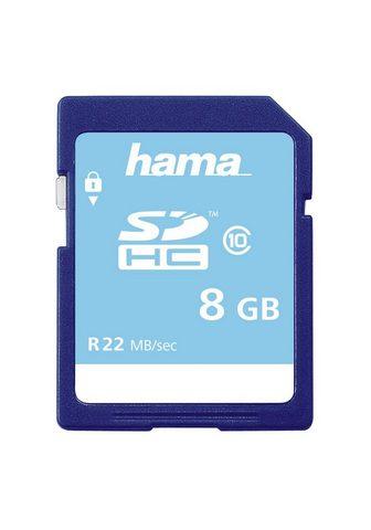 HAMA SDHC Atminties kortelė 8 GB Class 10 2...