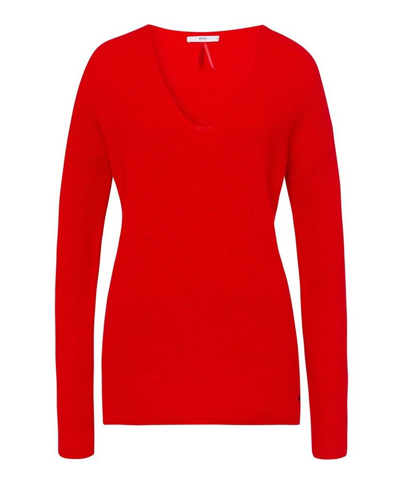 Brax Strickpullover »Style Lana«, Pullover In Feiner