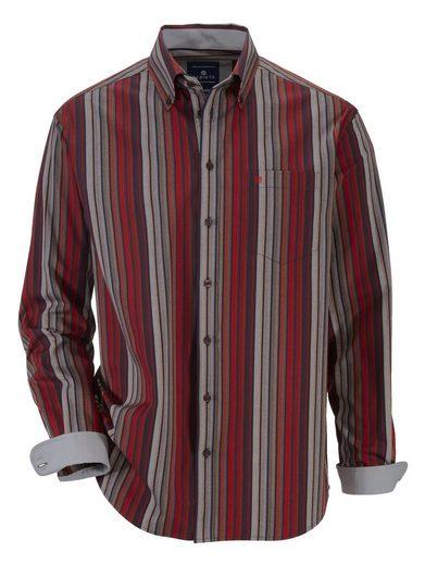 Babista Hemd mit harmonischem Streifenmuster