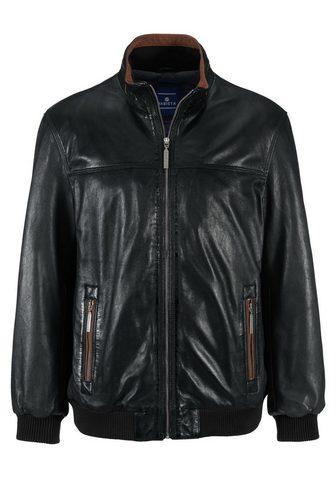 Куртка кожаная из echtem кожа ягненка