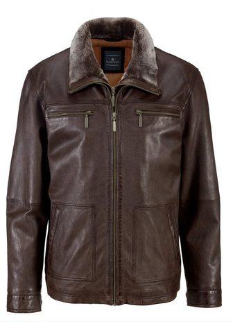 Куртка кожаная из мягкий Lammleder