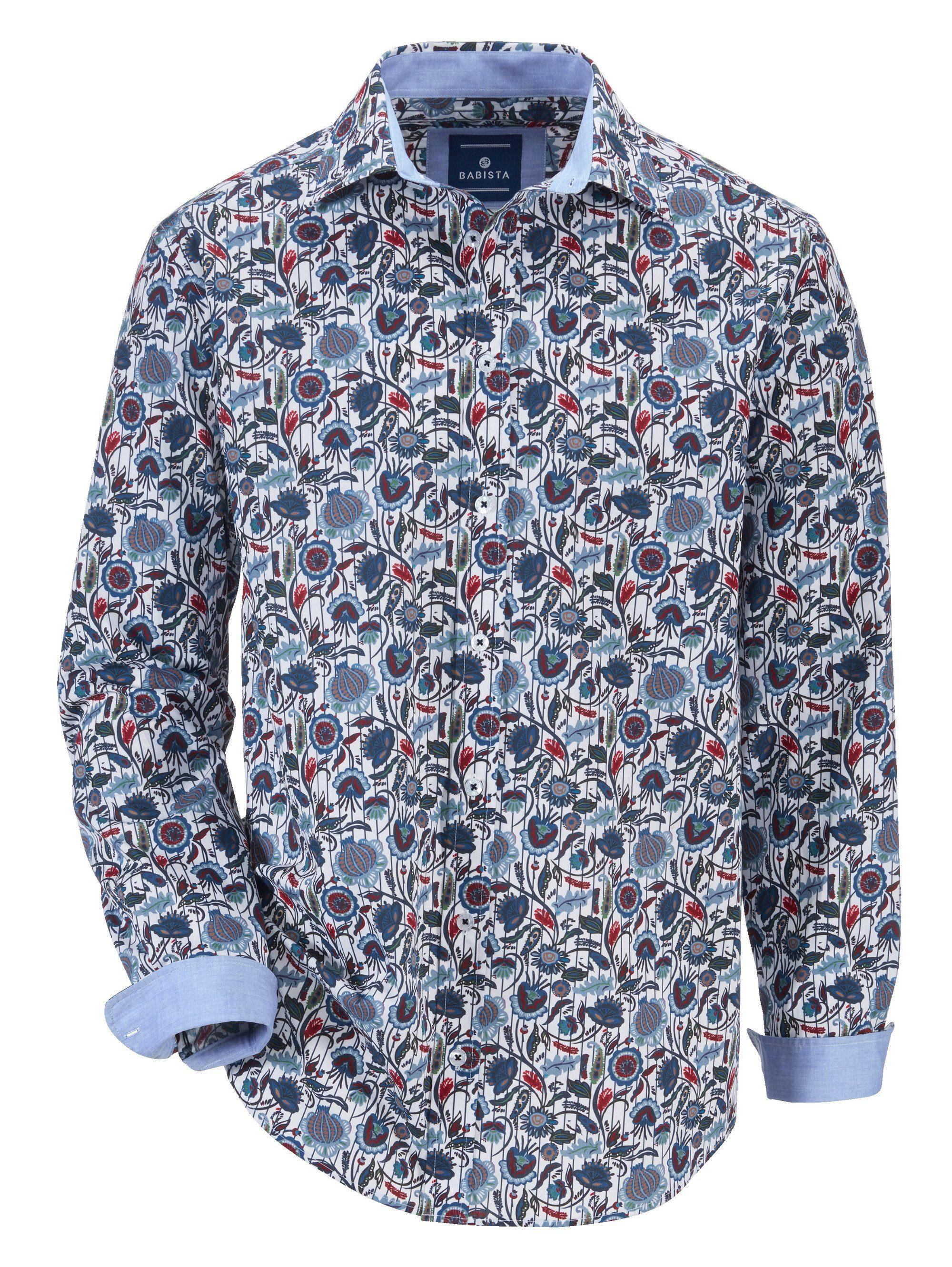 Babista Hemd mit modischem Druckmuster, Florales Druckmuster rundum online kaufen | OTTO
