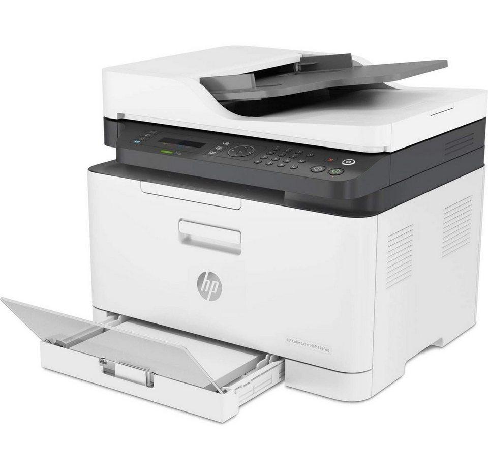 hp color laser mfp 179fwg printer drucken kopieren. Black Bedroom Furniture Sets. Home Design Ideas