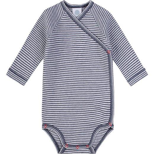 Sanetta Baby Wickelbody für Jungen, Organic Cotton