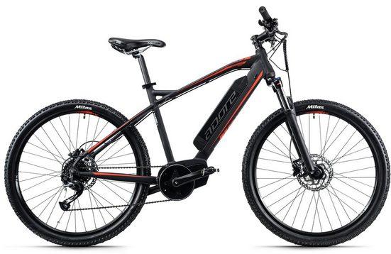 Adore E-Bike »Xpose«, 9 Gang Shimano Altus Schaltwerk, Kettenschaltung, Mittelmotor 250 W