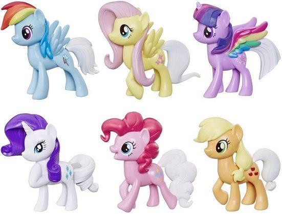 Hasbro Spielfigur »My Little Pony Farbenspiel Ponys«, (Set)