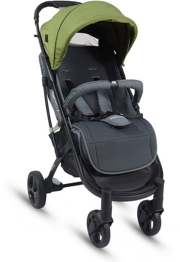 Knorrbaby Kinder-Buggy »X-Easy-Fold, green«
