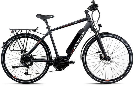 Adore E-Bike »Palermo«, 9 Gang Shimano Altus Schaltwerk, Kettenschaltung, Mittelmotor 250 W