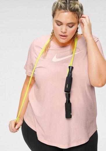 Nike Funktionsshirt »WOMEN NIKE DRY TEE SWOOSH PLUS SIZE« In großen Größen