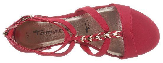 Tamaris »Ayn« Sandalette mit elegantem Schmuckriemchen