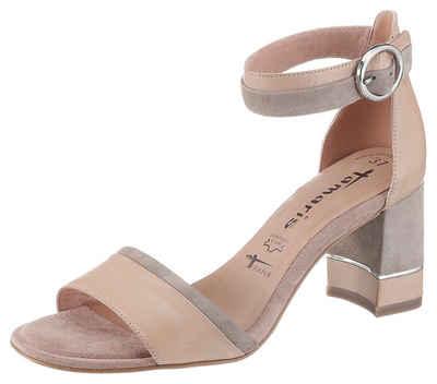 Tamaris »Dalina« Sandalette mit Metall Applikation am Absatz